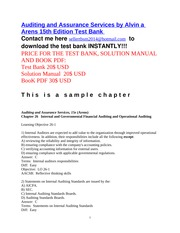 Auditing_and_Assurance_Services_15e_TB_chapter_26