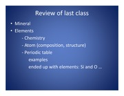 LECTURES Lec02_Ch2_Rocks and Minerals