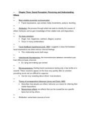 APSY270 Chapter 3 Review Sheet