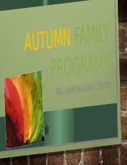 Autumn Family Programs.pptx