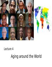 Lecture 4_C2g_ Aging around the world