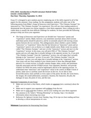 outline for final paper ece 311 This paper should be a combination of philosophies, theories, and concepts learned in this course, and demonstrate how they apply to the early childhood classroom.
