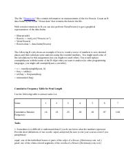 Introduction to Statistics Assignment Unit 2.docx