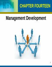 Chapter 14 Management Development (1)
