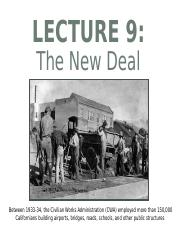 Lec 9 The New Deal.ppt