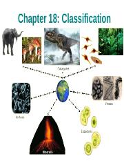 Chapter 18 Classification & Kingdoms.ppt