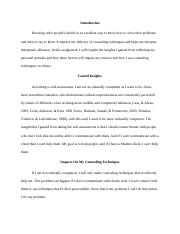 statement of counseling identity examples statement of counseling