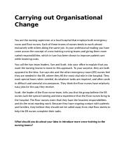 Exercise- Carrying out organisational change.docx