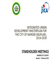 Master Plan Presentation for NIUPLAN Public Consultations Jan- Feb, 2014.ppt