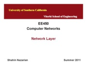 EE450-U9-NetworkLayer-Nazarian-Summer11_1