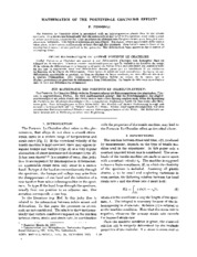 Penning_Mathematics of the portevin-le chatelier effect