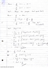Standard Deviation Theorems and Chain Rule Lecture Notes 6