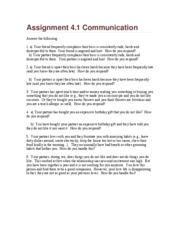 Assignment 6.1Communication (1)