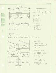 CIVE 3413_Structural Analysis_Study Notes