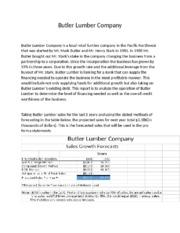 butler lumber company analysis Butler lumber case study solution essays  gilbert lumber company case solution & analysis- thecasesolutionscom - duration:  butler lumber co inc - maynard,.