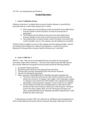 gaap graded questions 2013