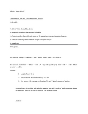 Physics Notes 09-10-07
