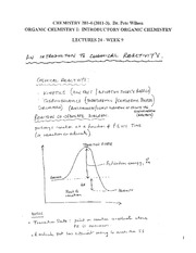 CHEM 281 2011-3 Lecture Notes 24 - WEEK 9