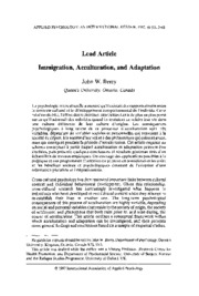 07-13_Berry+_1996_+Immigration%2C+acculturation%2C+and+adaptation