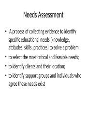 Aug 29 Individual and Community Needs Assessment (2).pptx