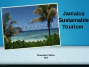 Jamaica Sustainable Tourism