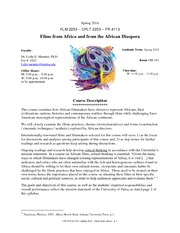 African Film-Syllabus-SP14