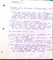 Astronomy telescope notes