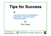 ES93 0529 2013 Tips for Success and Job Interviewing