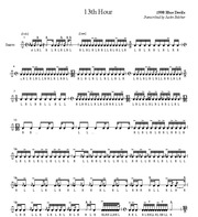 Blue Devils-13th Hour-SheetMusicTradeCom