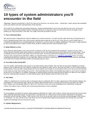 10 types of system administrators.doc