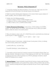 Recitation Worksheet 2