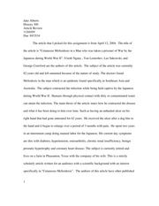 article revioew 2 for history 300