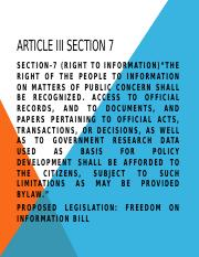 Article III section 7.pptx