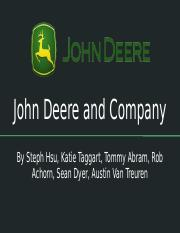 Deere and Company Case Presentation.pptx
