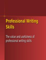 Value+of+Professional+Writing+Skills (2).ppt