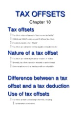 10 (Tax offsets)[1]