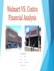 financial leverage analysis of walmart costco Comparative analysis between walmart  and finance the intent of this analysis is to determine the better  it continues to leverage this data to engage buyers.