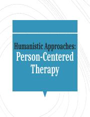 Person Centered Therapy SP Fall 2017.pptx