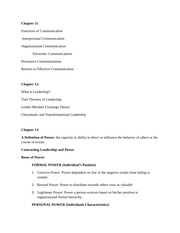 MGMT 324 Study Guide