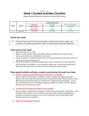 Week 1 Graded Activities Checklist.docx