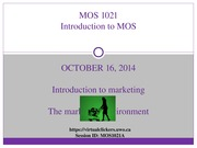 MOS+1021--Lecture+5+_Oct+16,+2014_--Introduction+to+Marketing+_STUDENT+SLIDES_