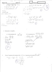 Calculus Quiz 1