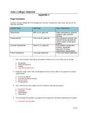 Piagetworksheet