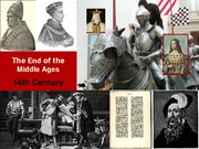 22 End of the middle ages 032811