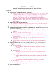 FN 355 Midterm Study Guide