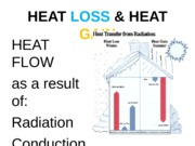 LECTURE #2 HEAT LOSS