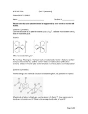 MSE160 2014 Quiz 2 (Ver.4) solutions