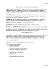 ENGL100_Illustration_Paragraph_Instructions