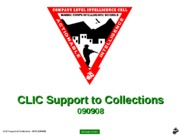 (CLNC Edit)F - usmc (CLIC-SOP) CLIC Support to Collections - PPT (090908) (NXPowerLite)
