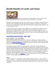 Health Benefits of Garlic and Onion. talam.docx